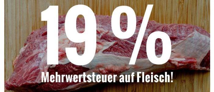 Steuerprivilegien für Fleisch streichen!
