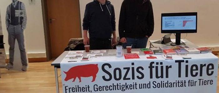 Infostand auf Landesparteitag der SPD Hessen