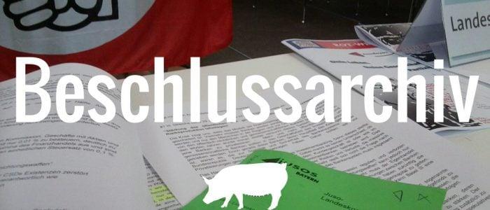 SPD Beschlüsse zu Tierschutz, Ernährung und Landwirtschaft