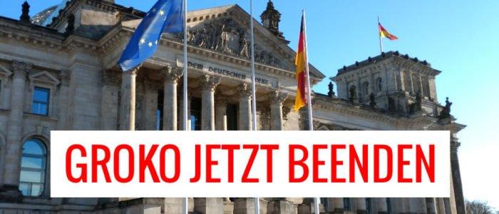 Ein schwarzer Freitag für die SPD – GroKo jetzt beenden!