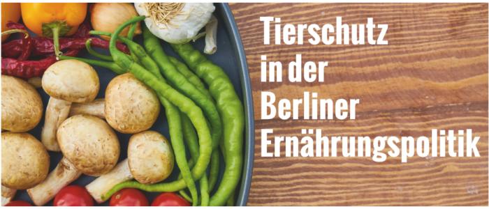 Workshop: Tierschutz in der Berliner Ernährungspolitik
